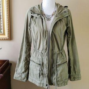 Hollister Green Utility Jacket